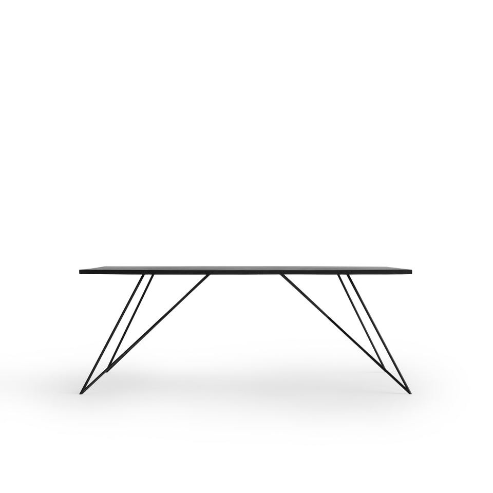 Stevie Steel Dining Table