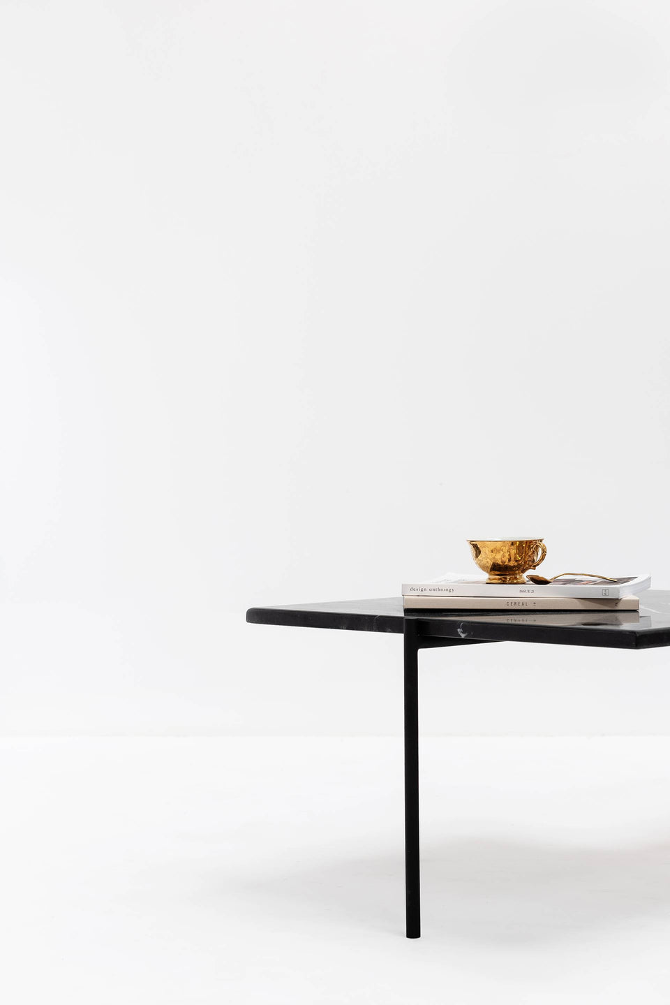 Coffee Table, Square, Small, Black