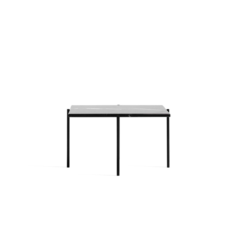Marble Coffee Table - Black Simple