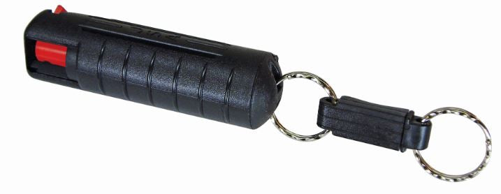 Mean Green Pepper Spray with Hard Case with Quick Key Release
