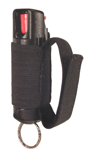 "1/2 oz. Pepper Spray ""3-in-1"" Jogger Unit with Hard Case, Elastic Strap, and Key Ring"