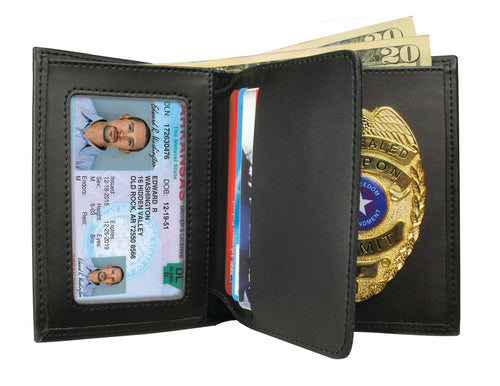 Concealed Carry Badge & Wallet