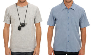 "The ""Undercover"" Ambidextrous Concealment Undershirt Holster"