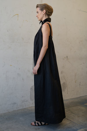 Hama Long Dress Black
