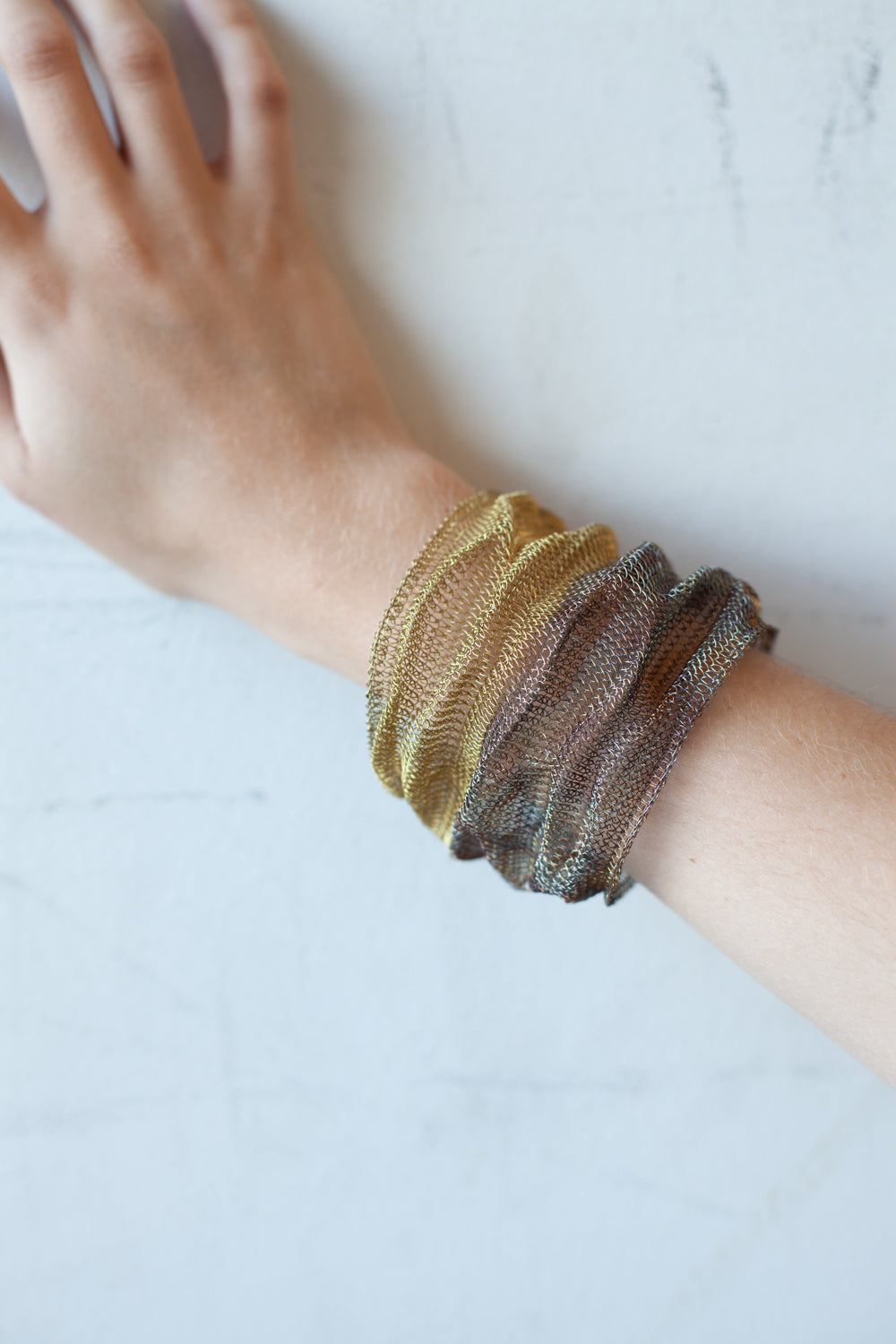 Crinkle Cuff Copper