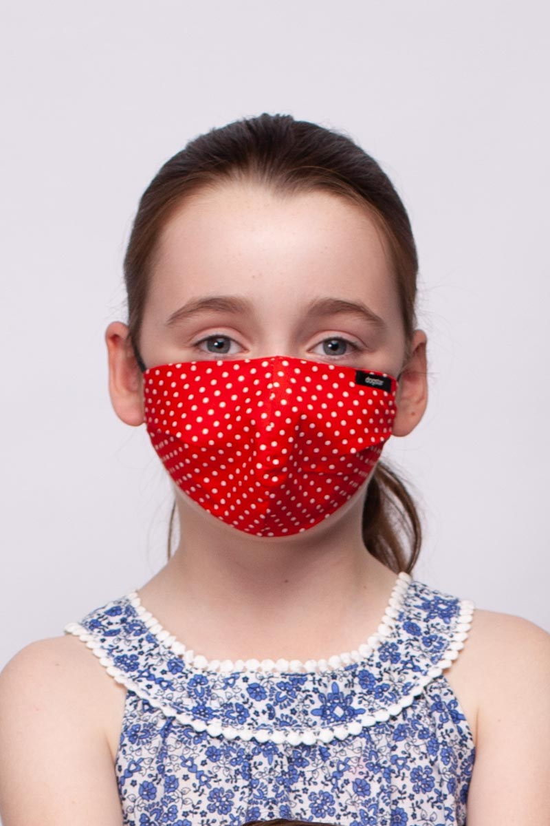 Face Mask Red / S
