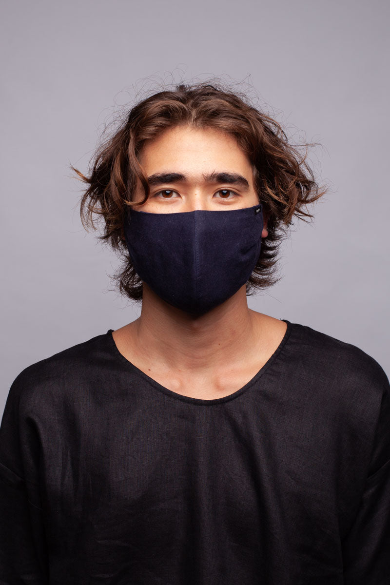 Face Mask Black / L