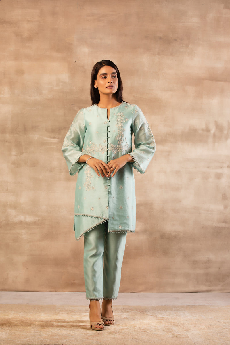 FARZEEN JACKET KURTA SET