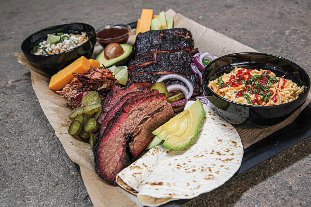 Texas Barbecue Platte