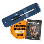 MeatStick MiniX by TMS (Mini Stick + Xtender-Ladegerät) + Bookazine Best Steak