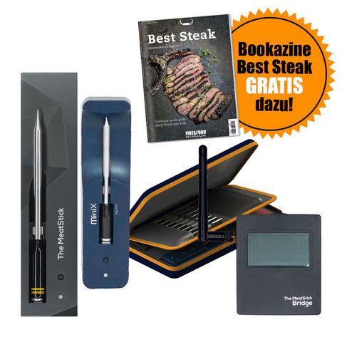 MeatStick & MiniX WiFi Bridge Combo Set + GRATIS-Bookazine