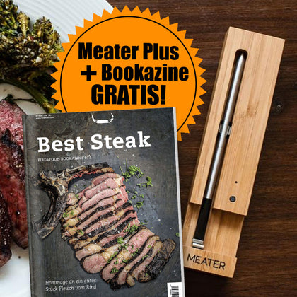 Meater Plus Thermometer (50m Bluetooth) + Bookazine gratis
