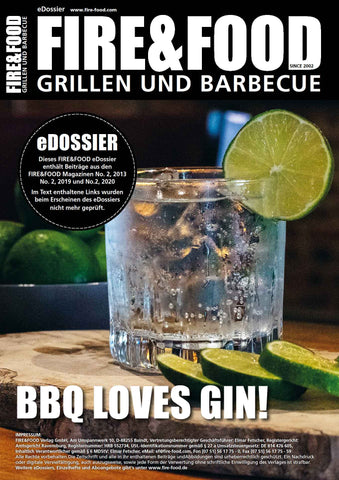 eDossier - BBQ loves Gin!