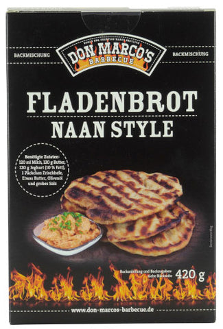 Don Marco's Fladenbrot Naan Style Backmischung 420g
