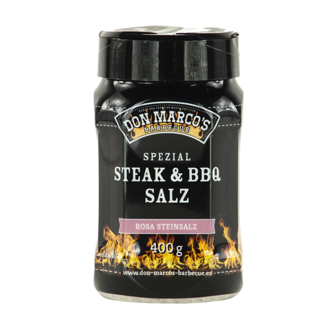 "Don Marco's Spezial Steak & BBQ Salz ""Rosa Steinsalz"""