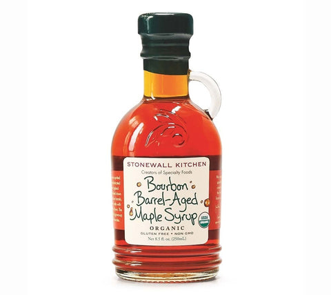 Organic Bourbon Barrel Aged Maple Syrup