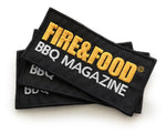 FIRE&FOOD Logo Patch Original