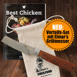 SET: Elmar's Grillmesser + Bookazine Best Chicken