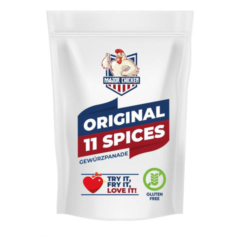 Major Chicken ORIGINAL 11 SPICES, 500g