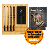 Meater Block Thermometer-Set + Bookazine Best Steak GRATIS!