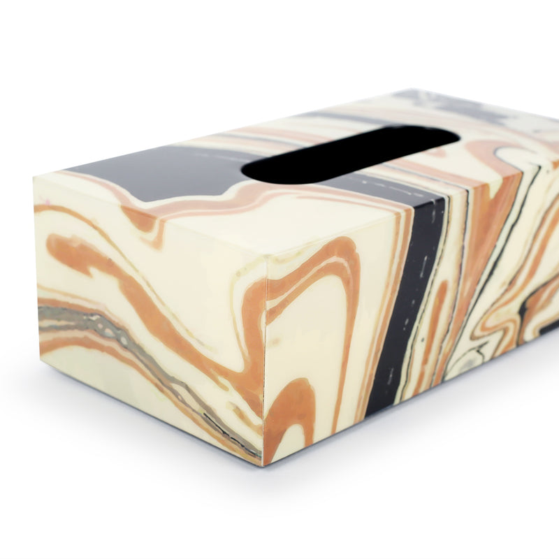 Celestial Tissue Holder-Decorative Boxes-The Auri Collective