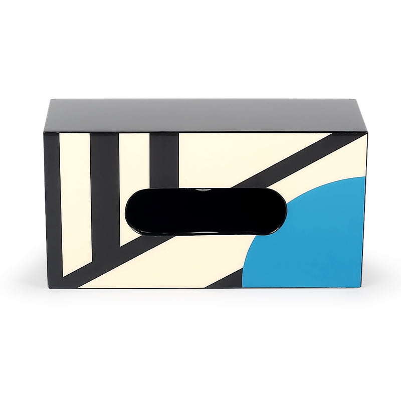 Sorrento Tissue Holder-Decorative Boxes-The Auri Collective