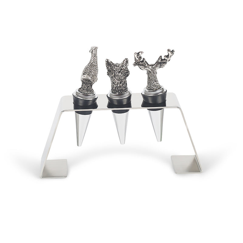 Tame The Wild Beast Bottle Stopper Set-Barware-The Auri Collective
