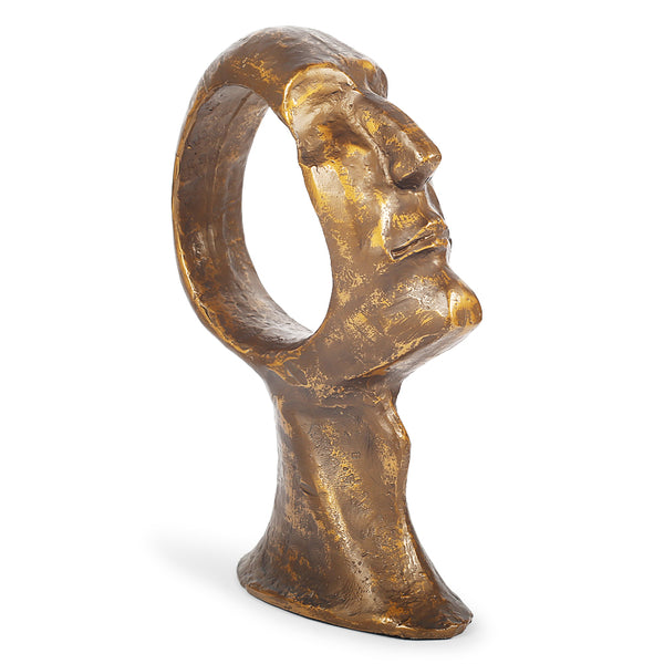 Moai Sculpture-Sculptures-The Auri Collective