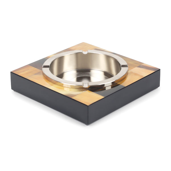 Plaid Chestnut Ashtray-Barware-The Auri Collective