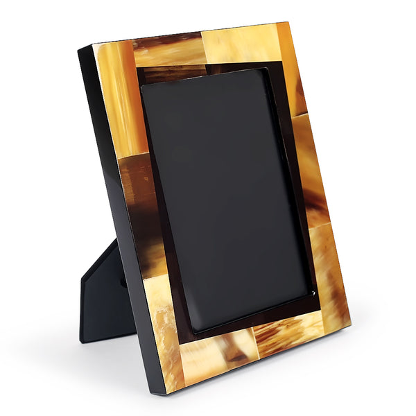 Bohemian Oak Photo Frame-Photo Frames-The Auri Collective