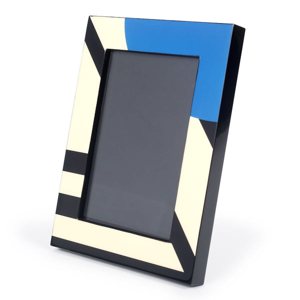 Azure Modernist Photo Frame-Photo Frames-The Auri Collective