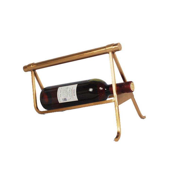 Golden Realm Wine Bottle Holder-Barware-The Auri Collective