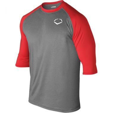 Copy of EvoShield 3/4 Sleeve Youth Performance Shirt