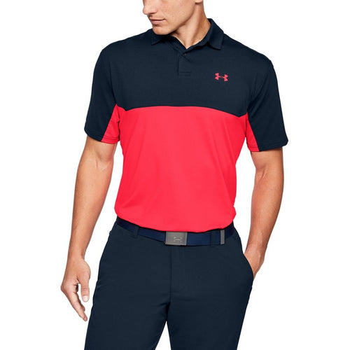 Under Armour  Mens Performance Polo 2.0 Color Block Polo