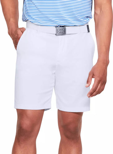 Under Armour Showdown White Men's Golf Shorts