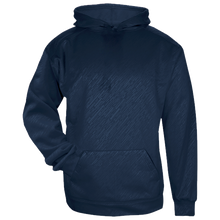 Load image into Gallery viewer, Badger Youth Line Embossed Hoodie.