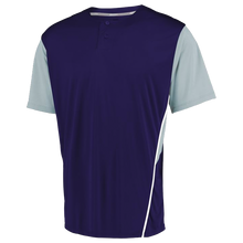 Load image into Gallery viewer, RUSSELL TWO-BUTTON COLOR BLOCK JERSEY.