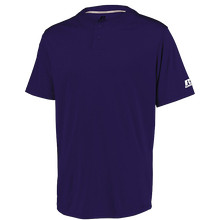 Load image into Gallery viewer, RUSSELL YOUTH PERFORMANCE TWO-BUTTON SOLID JERSEY.