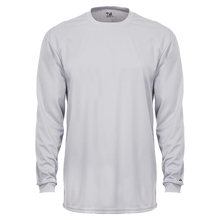 Load image into Gallery viewer, Badger Youth B-core Longsleeve Tee.