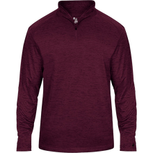Load image into Gallery viewer, Badger Tonal Blend 1/4 Zip.