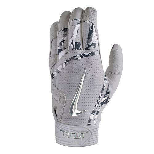 Nike Elite Batting Gloves - Sport Grey Gloves