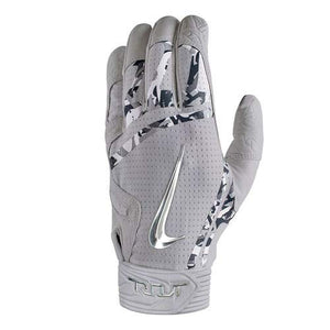 Nike Trout Elite Batting Gloves Wolf Grey/Wolf Grey/Chrome
