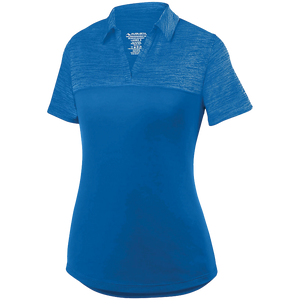 Augusta Ladies Shadow Tonal Heather Polo.