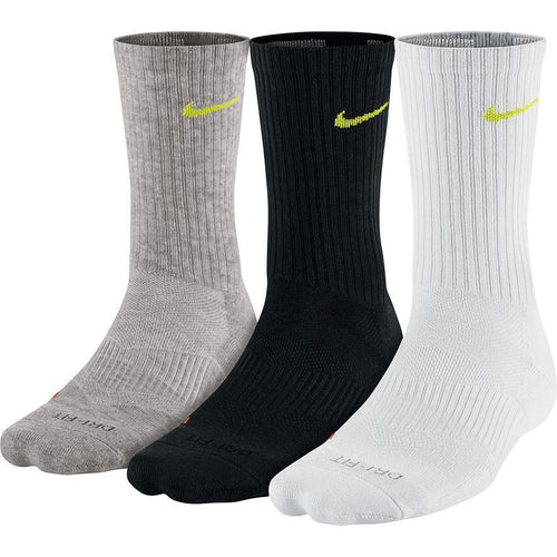 Nike Men's Dri-FIT Cushioned Crew Socks 3-Pack