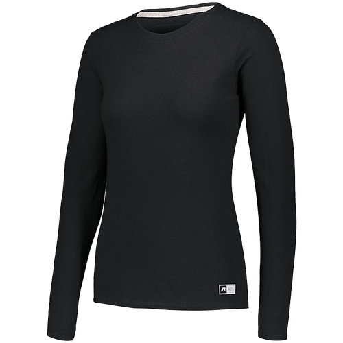 RUSSELL LADIES ESSENTIAL LONG SLEEVE TEE