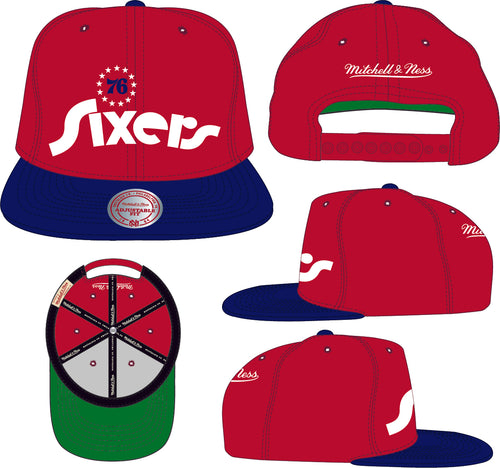 SIXERS Team Heritage Caps - Best Headwear For Sports 2020