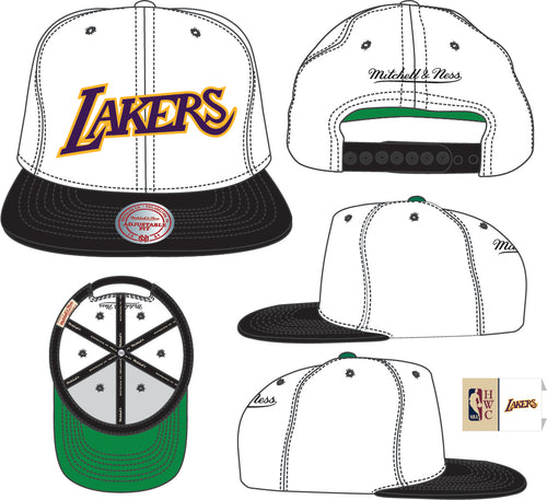 LOS ANGELES LAKERS Fresh Crown Snapback HWC