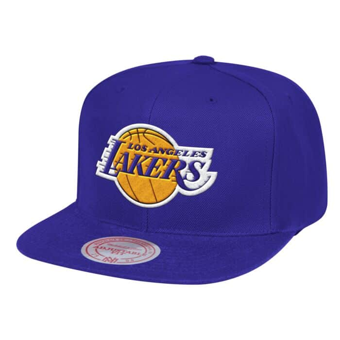 Team Ground Snapback Los Angeles Lakers