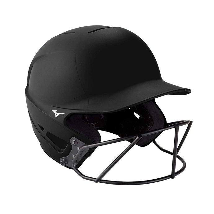 Mizuno F6 Adult Batting Helmet with Mask