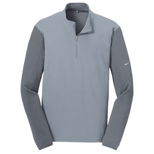 Nike Golf Dri-fit Fabric Mix 1/2 Zip Cover-up.